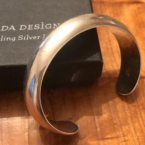Vintage Silpada .925 Sterling Silver Cuff Bracelet
